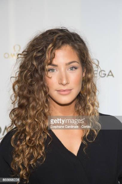 Manon Azem attends the Her Time Omega Photocall as part of the Paris Fashion Week Womenswear Spring/Summer 2018 at on September 29 2017 in Paris...
