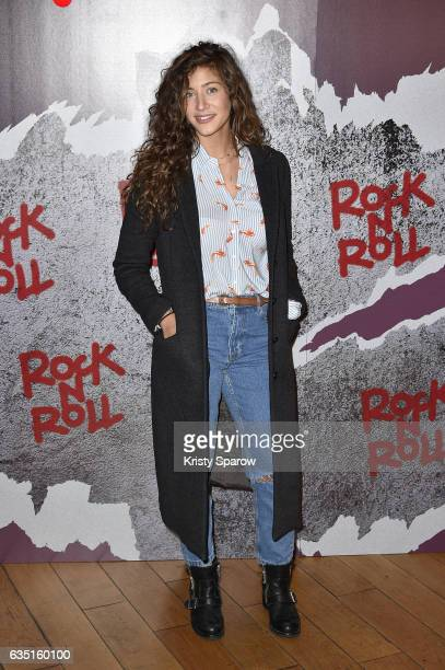 Manon Azem attends the Rock'N Roll Premiere at Cinema Pathe Beaugrenelle on February 13 2017 in Paris France