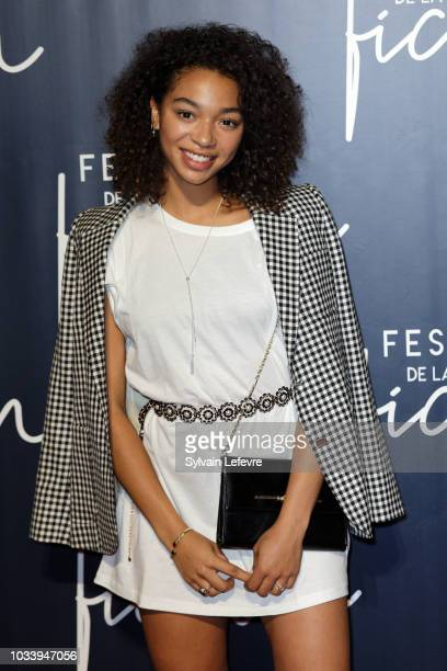 Manon Bresch attends closing ceremony photocall of the 20th Festival of TV Fiction on September 15 2018 in La Rochelle France
