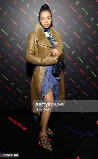 Manon Bresch attends the Christian Louboutin x Antidote Party at Le Petit Palace on January 17 2020 in Paris France