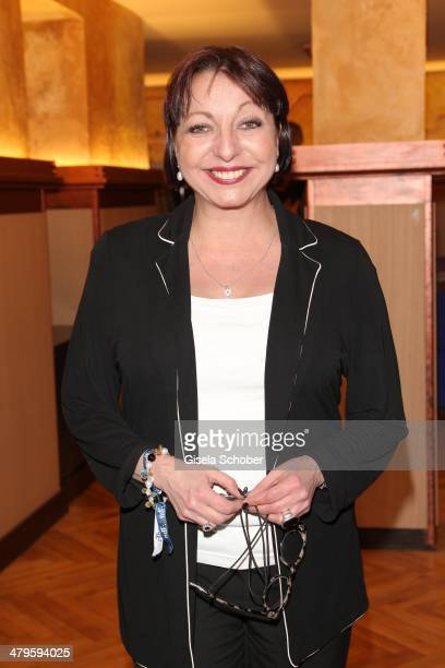 Manon Strache attends the NDF After Work Presse Cocktail at Parkcafe on March 19 2014 in Munich Germany