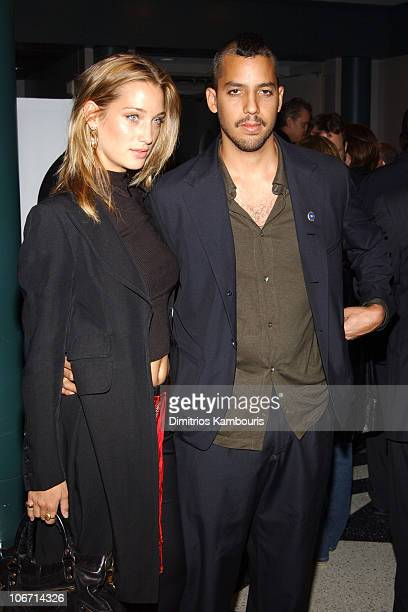 Manon von Gerkan and David Blaine during Universal Pictures And Jonathan Demme Host A Special Screening of 'The Truth About Charlie' at The Walter...