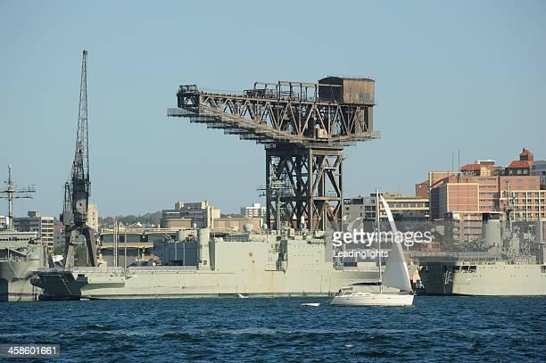 hmas manoora ガーデンアイランド - オーストラリア海軍 ストックフォトと画像