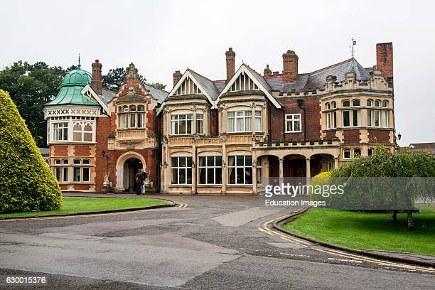 Manor house in Bletchley Park London England