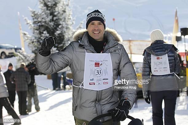 Manou Lubowski Beim 2 Promi Schlittenhunderennen Tirol Cross Mountain In Kühtai