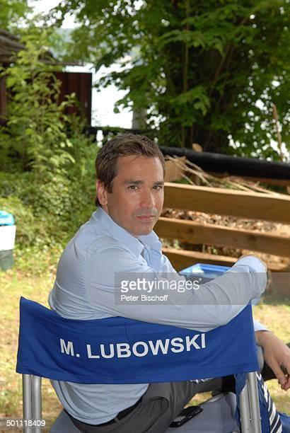 Manou Lubowski ZDFSerie Forsthaus Falkenau 22 Staffel Starnberg Bayern Deutschland Europa Stuhl sitzen Schauspieler Promi CP FTP PNr 768/2010 Foto...