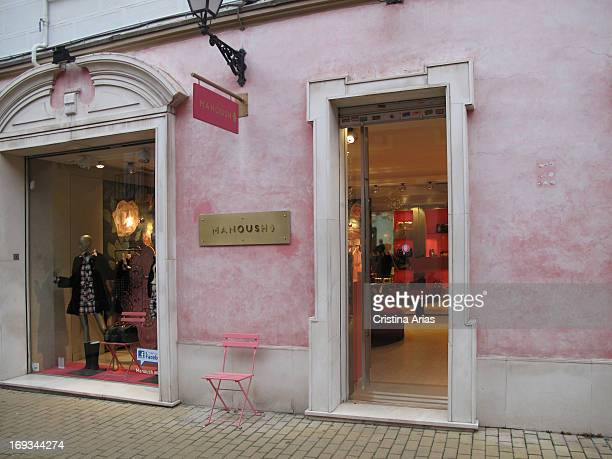 Manoush store in Madrid the French fashion firm characterized by a very chic and naif style has a shop in the alley of Jorge Juan in the Salamanca...