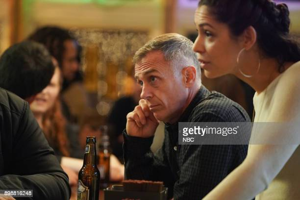 FIRE 'A Man's Legacy' Episode 607 Pictured David Eigenberg as Christopher Herrmann Miranda Rae Mayo as Stella Kidd