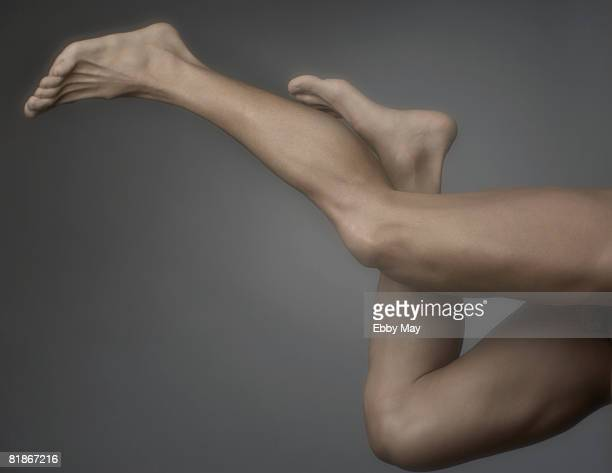mans legs - male feet stock photos and pictures