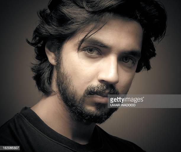 man's portrait - handsome pakistani men stock photos and pictures