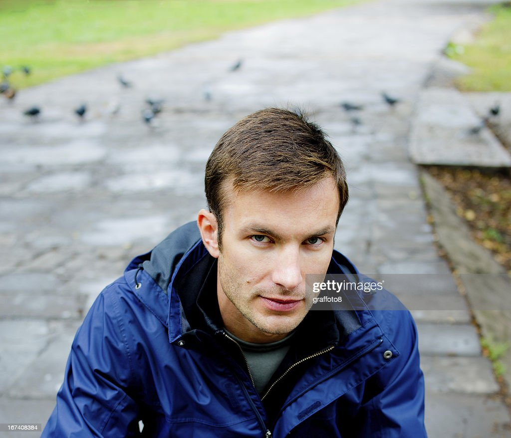 man's portrait : Stock Photo