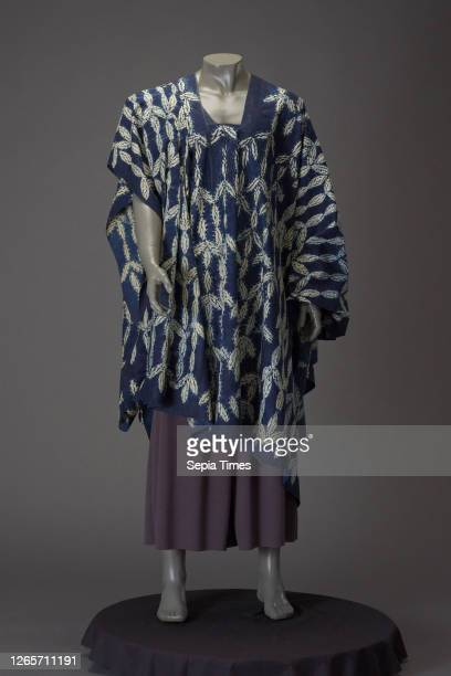 Man's robe, Sierra Leonean, 1920-1939, cotton, resist-dyed, 47 x 76 in., 119.4 x 193.0 cm., Textile and Fashion Arts.