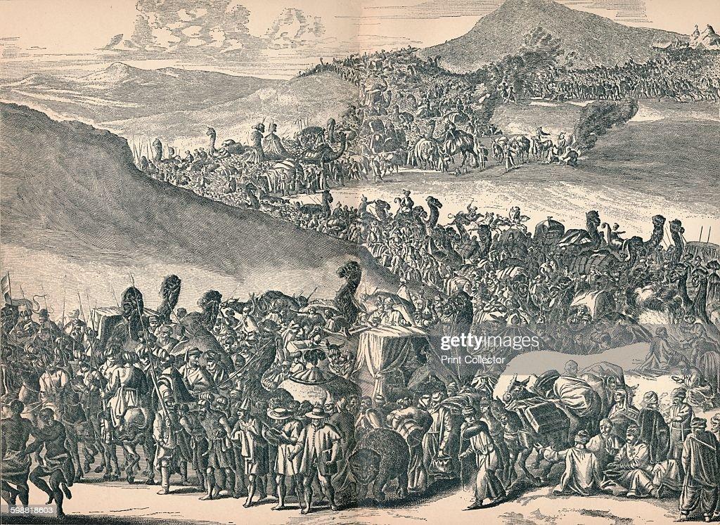Mansa Musa on His Way to Mecca, c1670, (1903) : News Photo