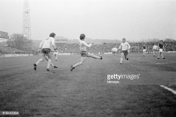 Mansfield 1-1 Aston Villa, League Three match at Field Mill, Monday 24th April 1972. Aston Villa, earn point they required for automatic promotion.