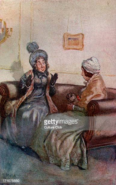 'Mansfield Park' 'Mansfield Park' by Jane Austen First published July 1814 Caption reads 'Me Never' 1910 JA English novelist 16 December 1775 – 18...