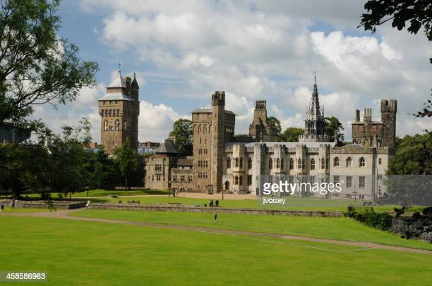 Mansion and Clock-tower, Cardiff Castle, Wales