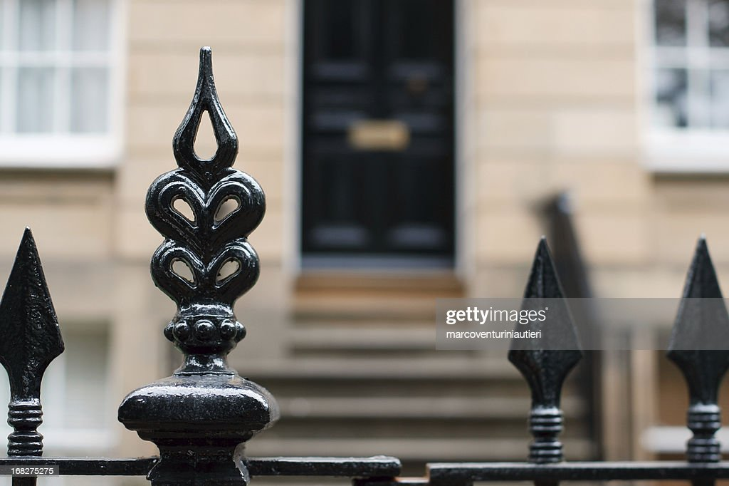 Mansion gate : Stock Photo