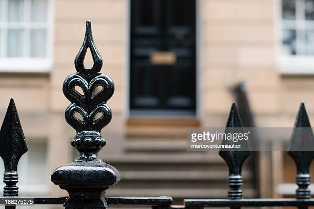 mansion gate - marcoventuriniautieri stock pictures, royalty-free photos & images