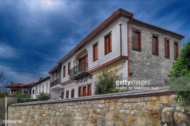 mansion house at varousi trikala greece (hellas) 2 - dimitrios tilis stock pictures, royalty-free photos & images
