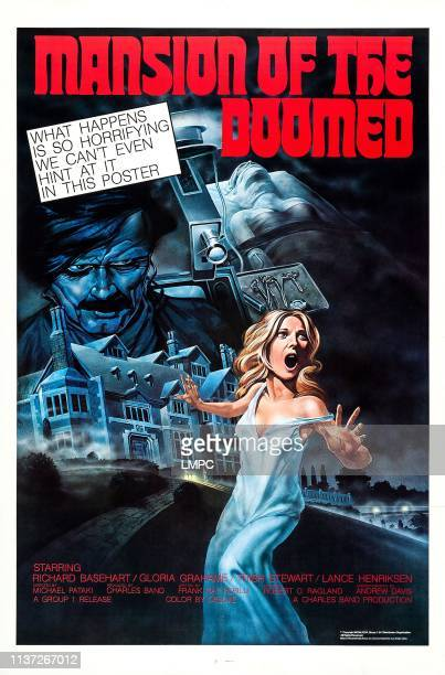 Mansion Of The Doomed poster US poster art Trish Stewart 1976