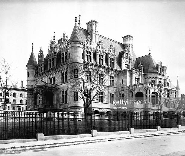A mansion on Riverside Drive and 73rd Street belongs to Charles M Schwab a steelindustry executive | Location Riverside Drive and 73rd Street New...