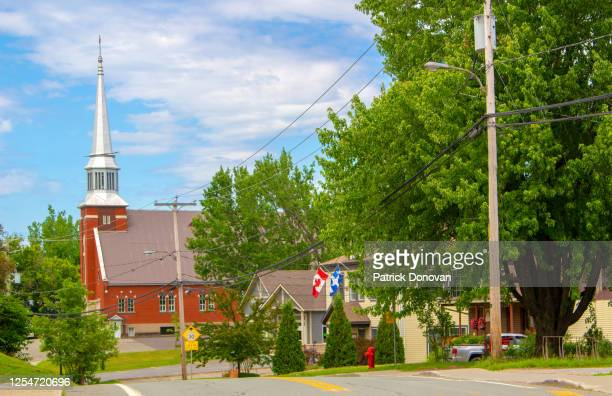 mansonville (potton), quebec, canada - eastern townships stock pictures, royalty-free photos & images