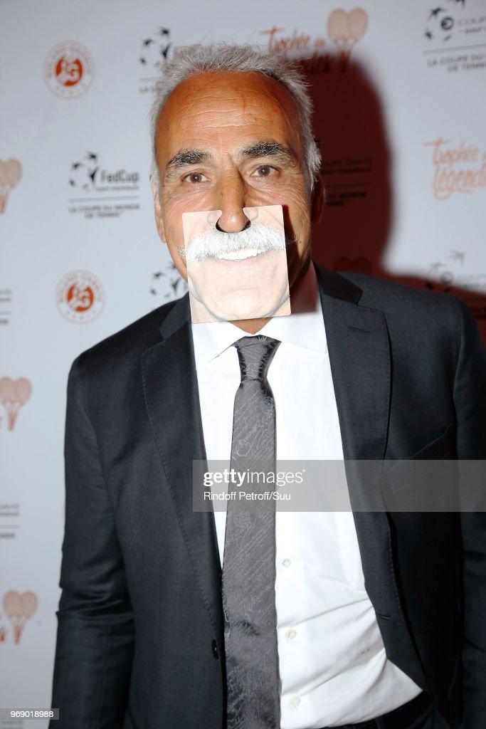 Mansour Bahrami attends 'Diner des Legendes' at Le Fouquet's on June 6, 2018 in Paris, France.