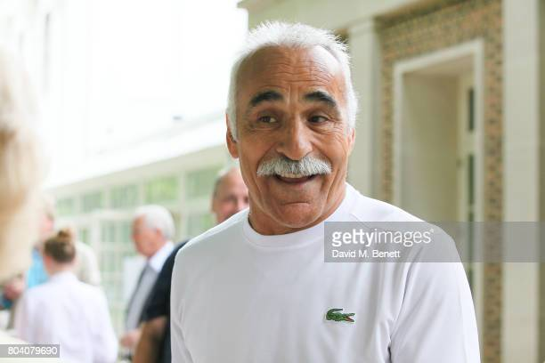 Mansour Bahrami attends the Aspall Tennis Classic at The Hurlingham Club on June 30 2017 in London England