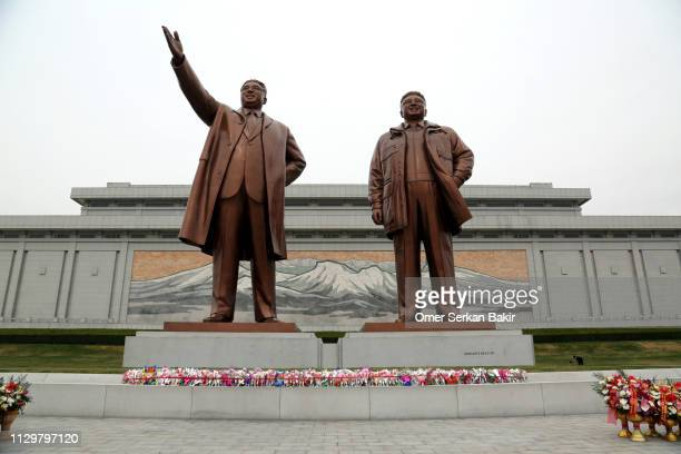 mansu hill grand monument - dictator stock pictures, royalty-free photos & images