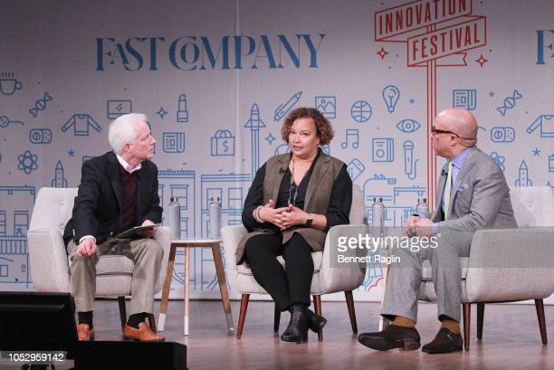 CEO Mansueto Ventures Eric Schenberg VP of Environment Policy and Social Initiatives for Apple Lisa Jackson and President of the Ford Foundation...