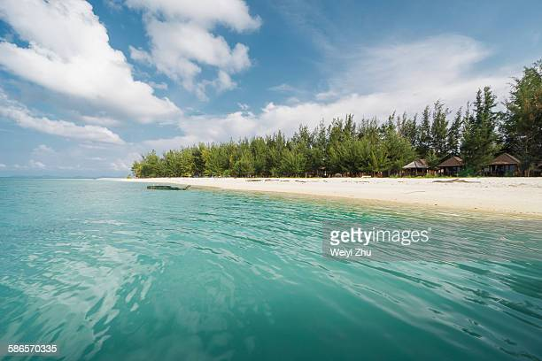 mantanani island - kota kinabalu stock pictures, royalty-free photos & images