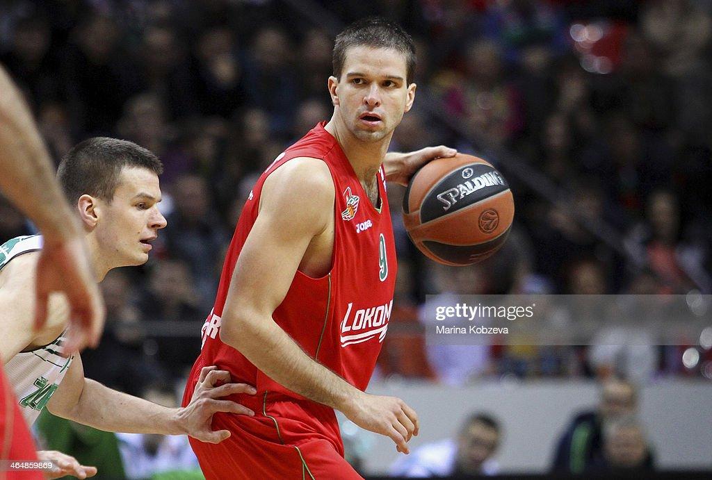 Lokomotiv Kuban Krasnodar vs Zalgiris Kaunas - Turkish Airlines Euroleague Top 16 : News Photo
