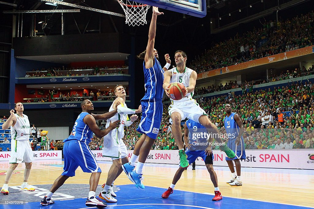 Lithuania v France - EuroBasket 2011