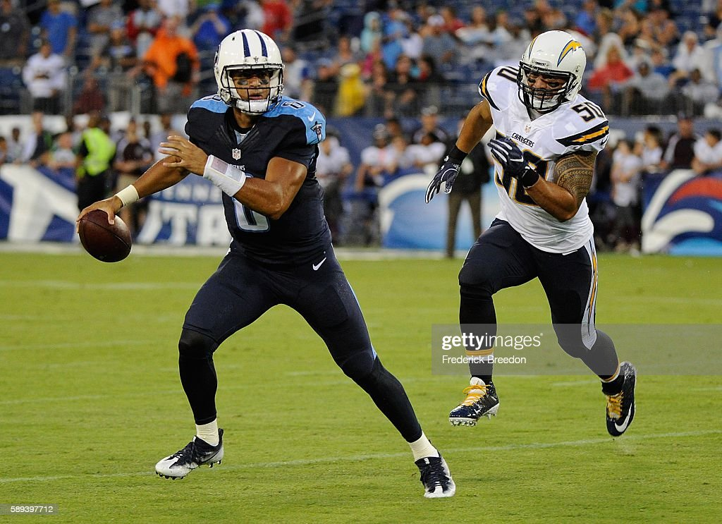 San Diego Chargers v Tennessee Titans