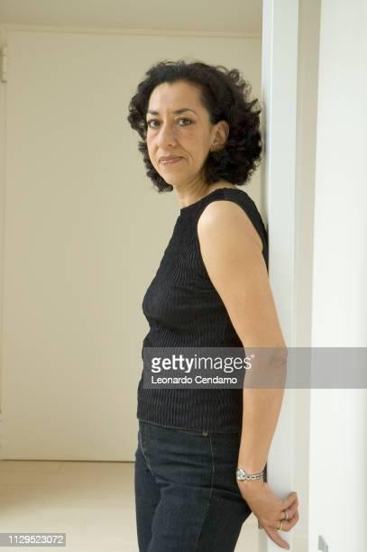 Mantova Italy September 2005 Andrea Levy British writer