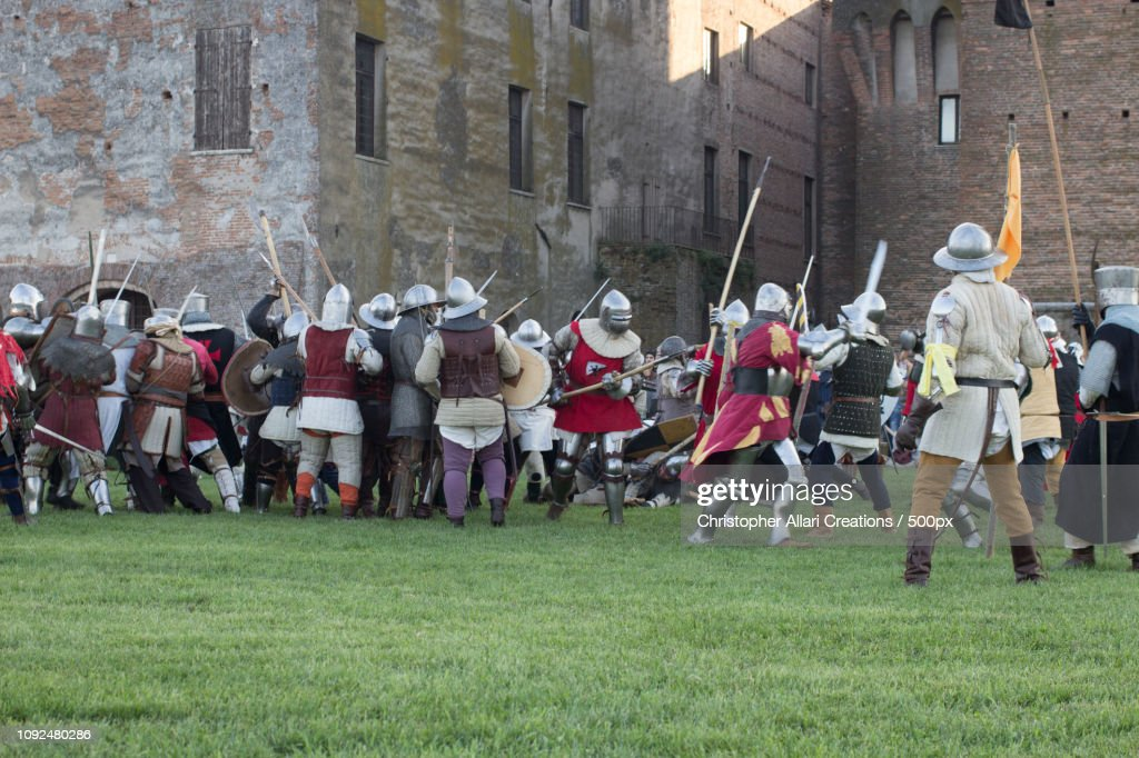 Mantova Medievale : Stock Photo