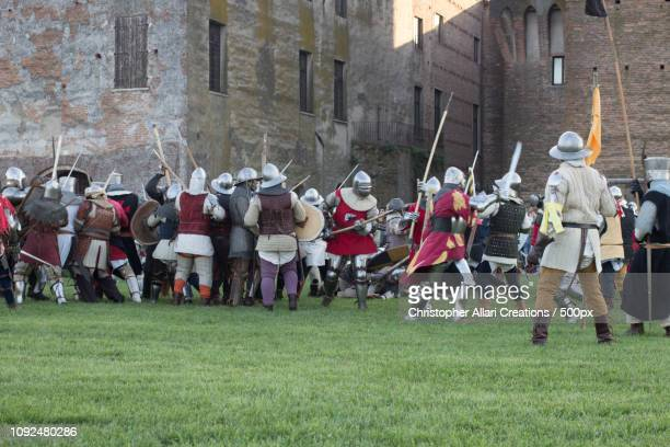mantova medievale - historical reenactment stock pictures, royalty-free photos & images
