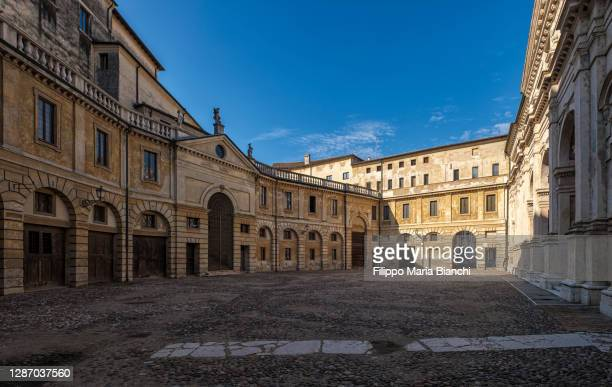 mantova, palazzo ducale - mantua stock pictures, royalty-free photos & images