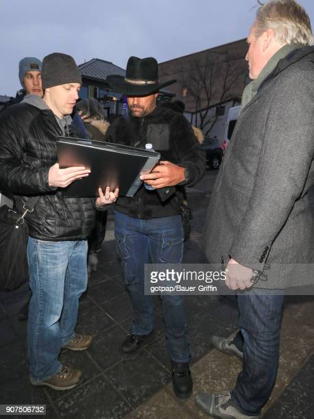 Manu Bennett is seen on January 19 2018 in Park City Utah