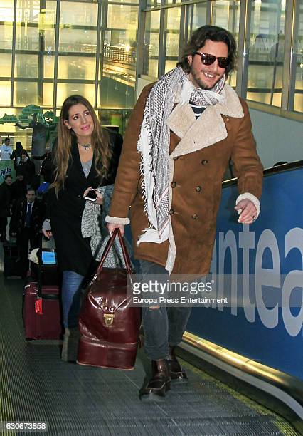 Manu Carrasco and Almudena Navalon are seen on December 29 2016 in Madrid Spain