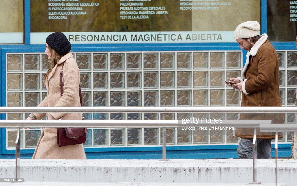 Manu Carrasco And Almudena Navalon Are Seen On December 5 2016 In