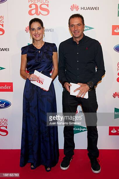 Manu Carreno attends As del Deporte awards 2012 at Palace Hotel on December 10 2012 in Madrid Spain