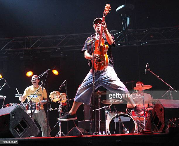 Manu Chao performs in concert on Day One of the Austin Citly Limits Festival, held at Zilker Park on September 26, 2008 in Austin, Texas.