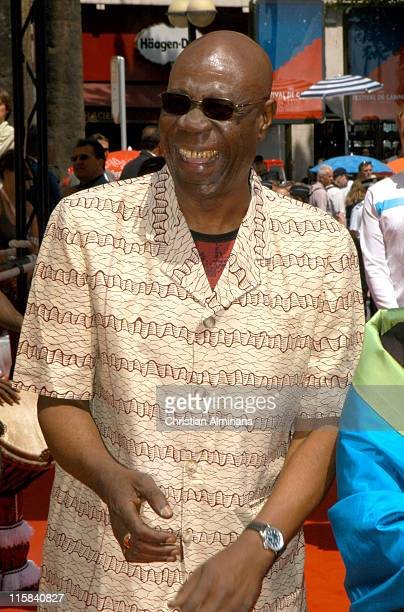 Manu Di Bango during 2005 Cannes Film Festival Kirikou et le fétiche égaré Photocall at Palais De Festival in Cannes France