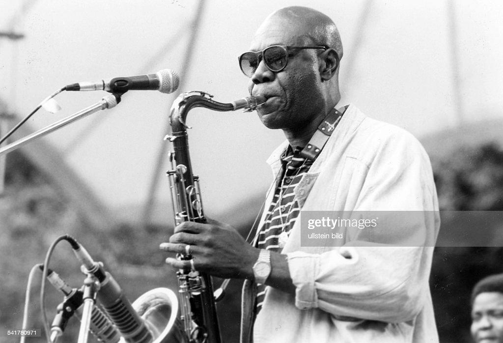 Manu Dibango - Musician, Cameroon : Photo d'actualité