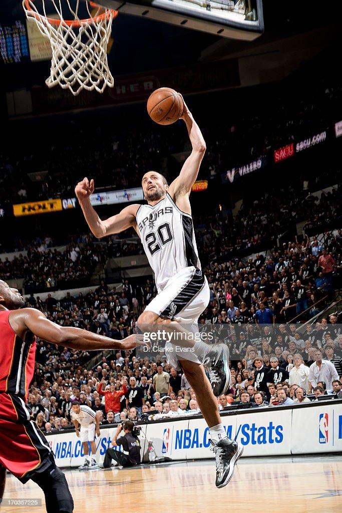 2013 NBA Finals - Game Three : News Photo