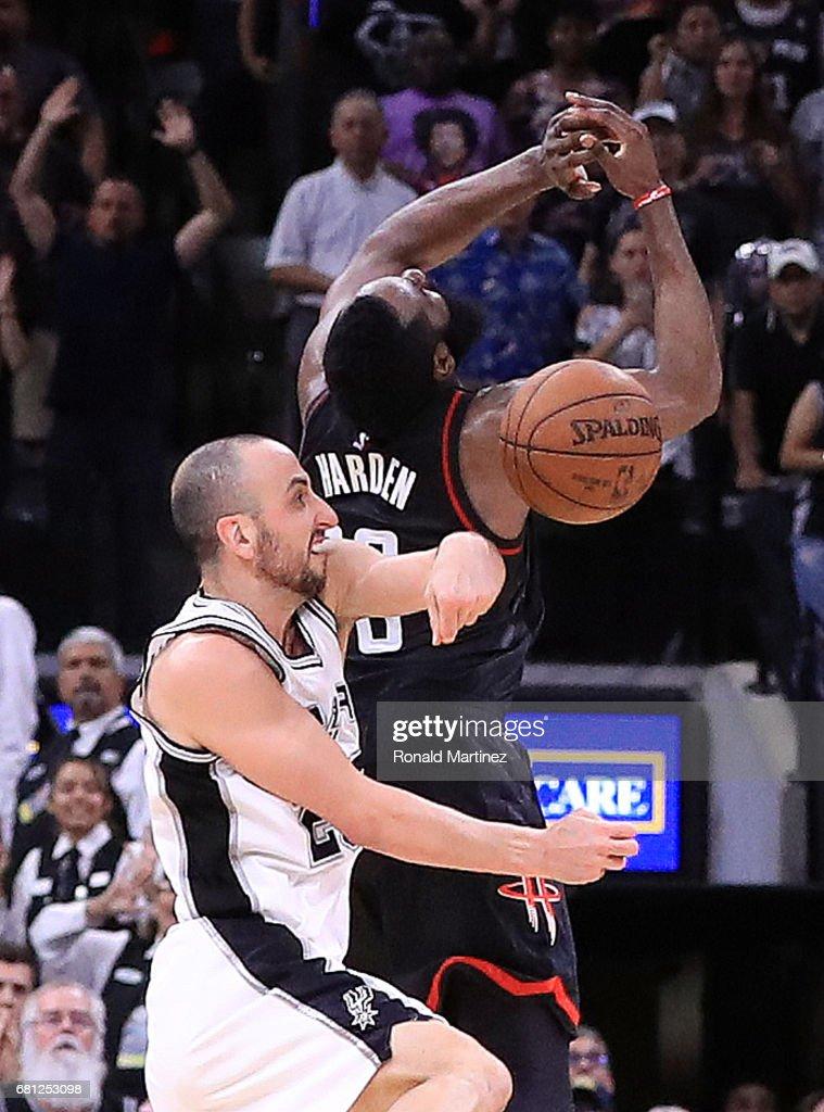 Houston Rockets v San Antonio Spurs - Game Five : News Photo
