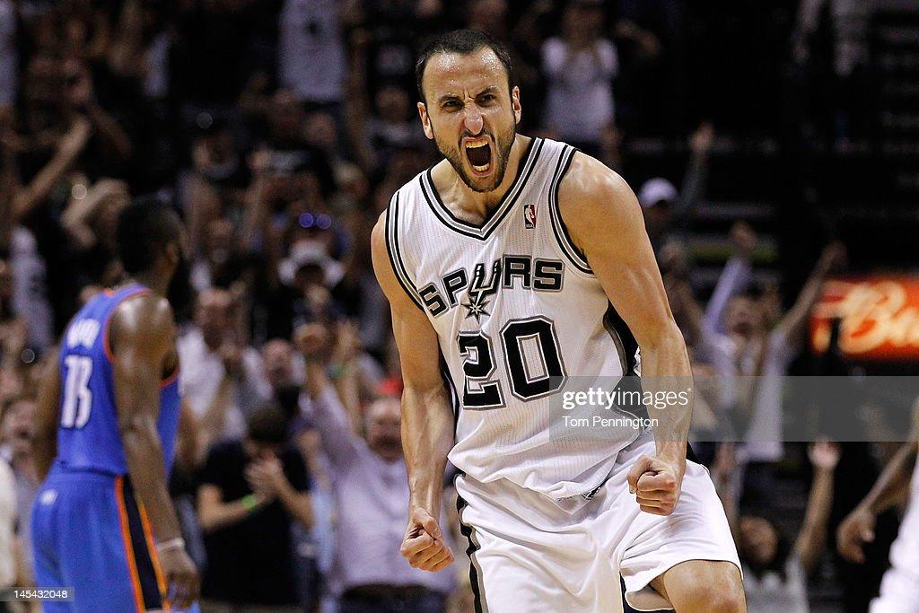 Oklahoma City Thunder v San Antonio Spurs - Game Two : News Photo