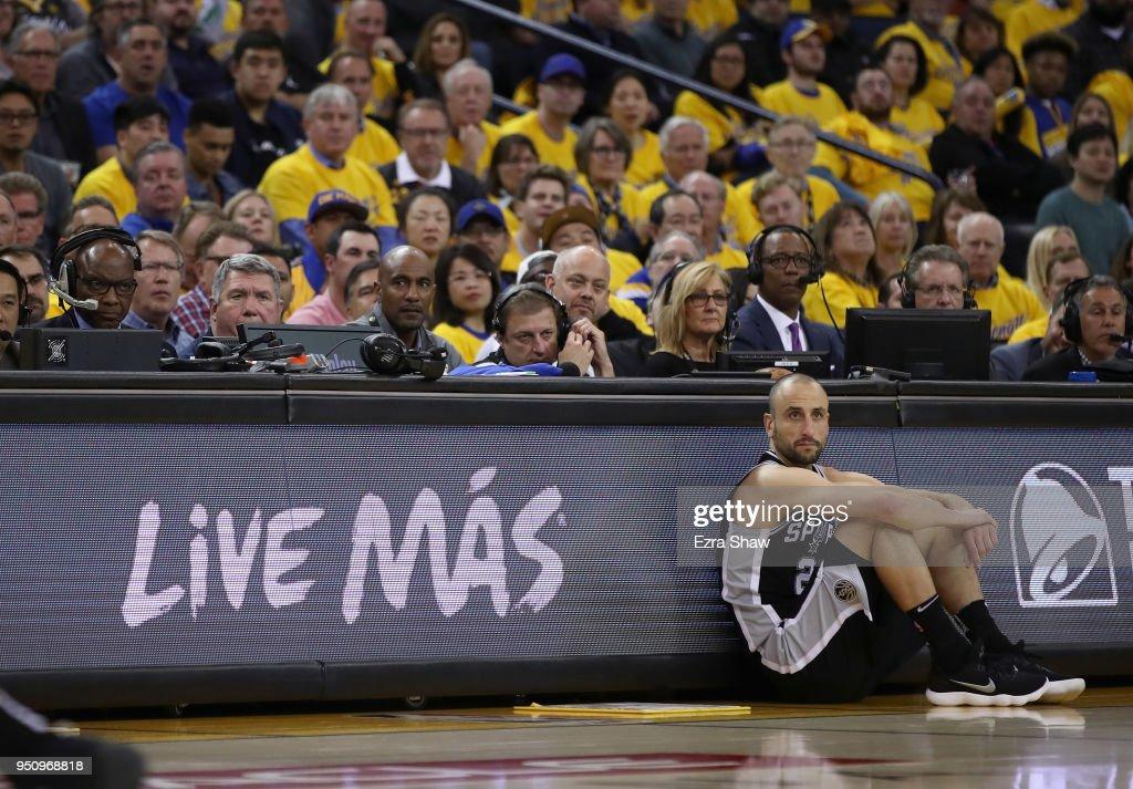 San Antonio Spurs v Golden State Warriors - Game Five : Fotografia de notícias