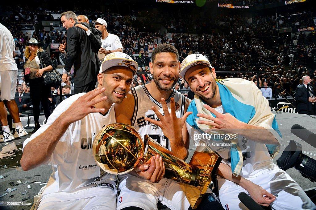2014 NBA Finals - Game Five : News Photo
